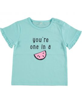 Baby T-shirt Turquoise