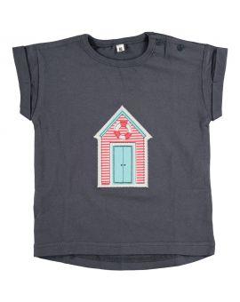 Baby meisjes T-shirt Blauw