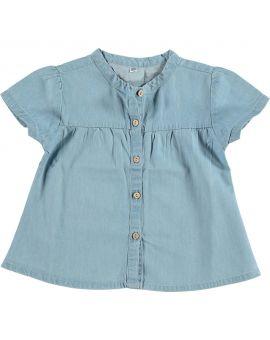 Baby meisjes blouse Lichtblauw