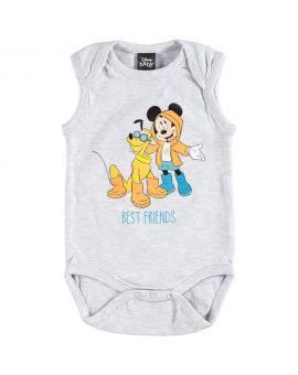 Mickey Baby romper Grijs