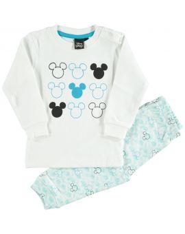 Mickey Baby pyjama Blauw