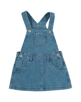 Baby jurkje Denimblauw