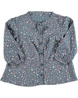 Baby blouse Petrol