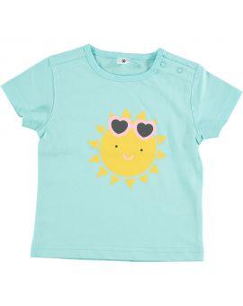 Baby T-shirt Aqua