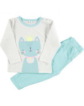 Baby pyjama Turquoise