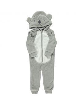 Baby onesie Grijs