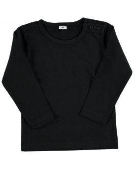 Baby T-shirt Zwart