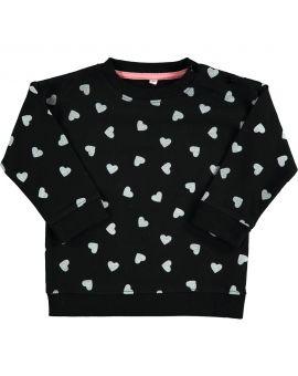 Baby meisjes sweater Zwart
