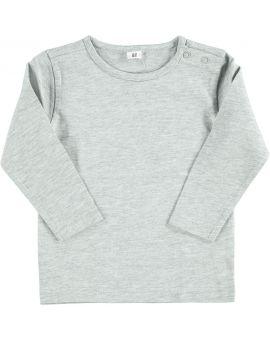 Baby T-shirt Grijs