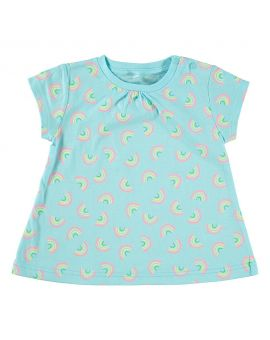 Baby meisjes T-shirt Turquoise