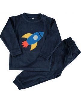 Baby pyjama Nachtblauw