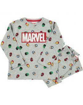Marvel Jongens pyjama Grijs