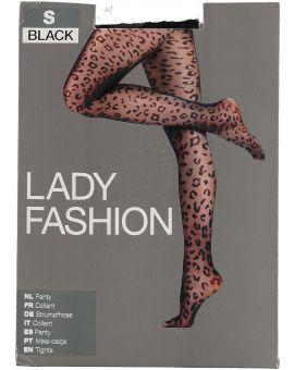 Lady fit Panty Zwart