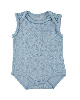Baby romper Blauw