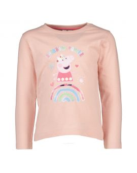 Peppa pig Kinder T-shirt Licht roze