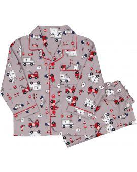 Jongens flanel pyjama