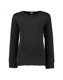 Kinder thermo T-shirt Zwart
