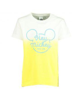 Mickey Kinder T-shirt Wit