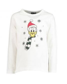 Donald Duck Kinder T-shirt Wit