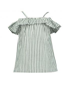 Meisjes blouse Wit