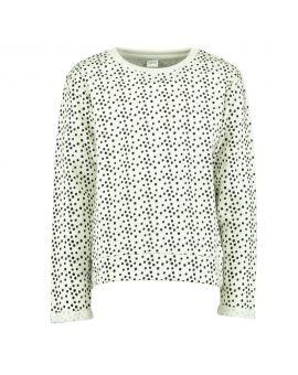 Meisjes sweater Wit