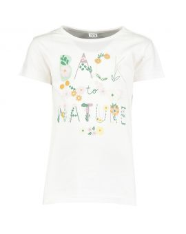 Kinder T-shirt Wit
