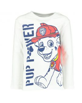 Paw Patrol Kinder T-shirt Wit