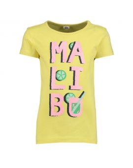 Kinder T-shirt Neon geel