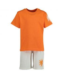 Jongens shortama Oranje