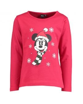 Minnie Kinder T-shirt Rood