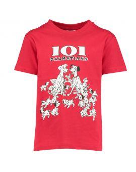 Kinder T-shirt Rood