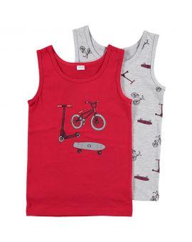 Jongens hemd Rood