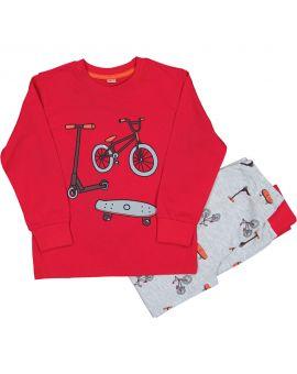 Jongens pyjama Rood
