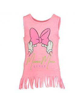 Minnie Kinder T-shirt Roze