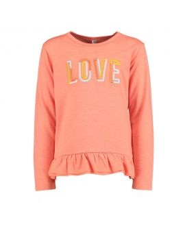 Kinder T-shirt Zalm