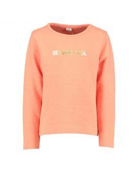 Meisjes sweater Koraal