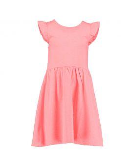 Meisjes jurk Koraal