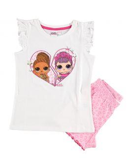 L.O.L. Surprise Meisjes shortama Roze