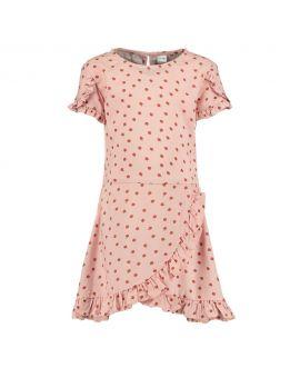 Meisjes jurk Babyroze