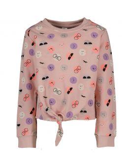 Kinder sweater Licht roze