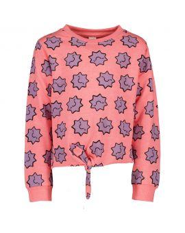 Kinder sweater Neon roze