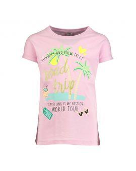 Meisjes T-shirt Babyroze