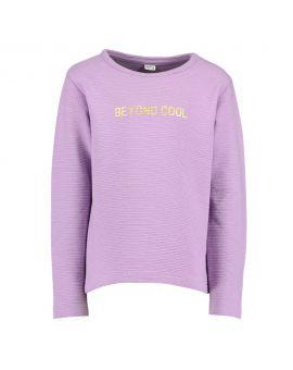 Meisjes sweater Lila