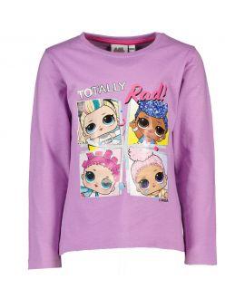 L.O.L. Surprise Kinder T-shirt Lila