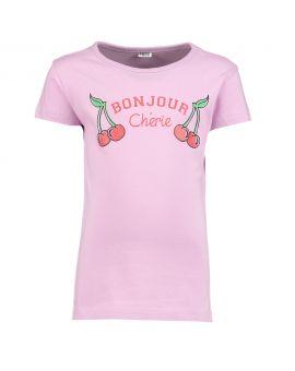 Kinder T-shirt Lila