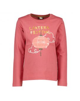 Meisjes T-shirt Cerise