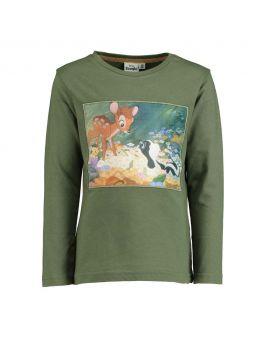 Bambi Kinder T-shirt Groen