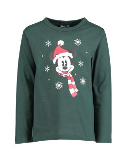 Mickey Kinder T-shirt Groen