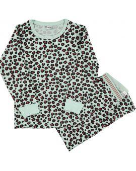 Meisjes pyjama Groen