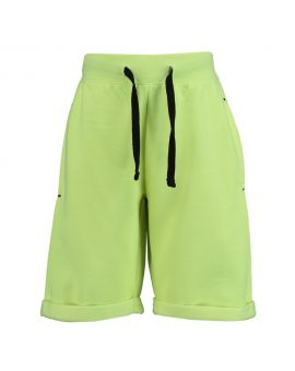 Jongens short Lime